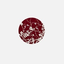 Funny Cherry blossom Mini Button