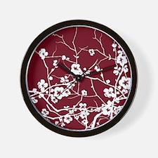 Unique Cherry blossom Wall Clock