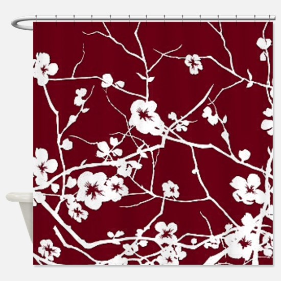 Unique Cherry blossom Shower Curtain