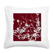 Cute Cherry blossom Square Canvas Pillow