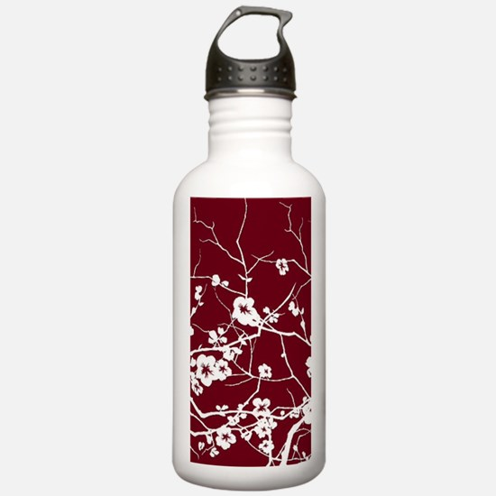 Funny Cherry blossom Water Bottle