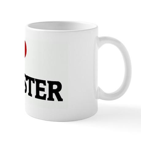 I Love my MASTER Mug