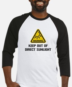 WARNING - Keep Out of Direct Sunlight Baseball Jer