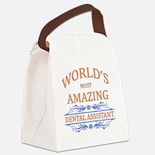 Dental Assistant Canvas Lunch Bag