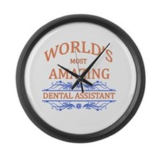 Dental Assistant Large Wall Clock