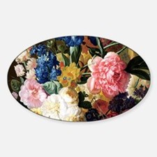 elegant vintage flowers nat Decal