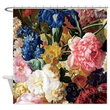 Cute Floral still life Shower Curtain
