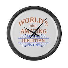 Dietitian Large Wall Clock