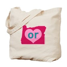 OR Heart Tote Bag