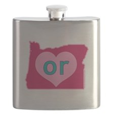 OR Heart Flask