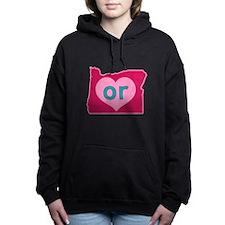 OR Heart Women's Hooded Sweatshirt