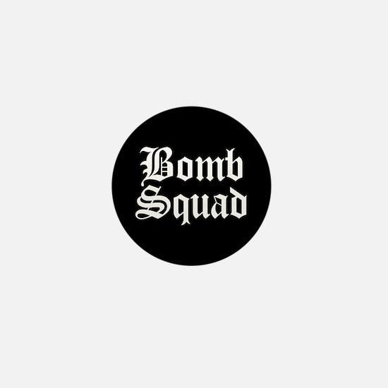 Bomb Squad Mini Button