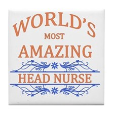 Head Nurse Tile Coaster