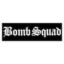 Bomb Squad Bumper Car Car Sticker