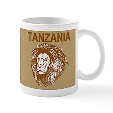 Tanzania With Lion Mugs