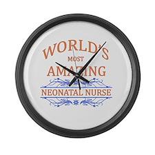 Neonatal Nurse Large Wall Clock