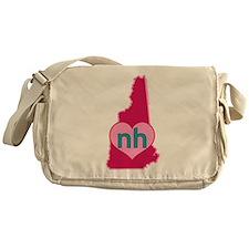 NH Heart Messenger Bag