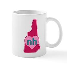 NH Heart Mugs