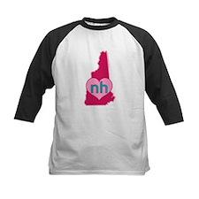 NH Heart Baseball Jersey