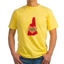 NH Heart T-Shirt