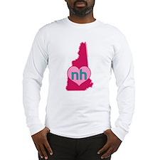 NH Heart Long Sleeve T-Shirt