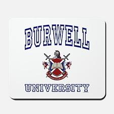 BURWELL University Mousepad
