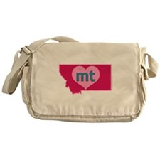 MT Heart Messenger Bag
