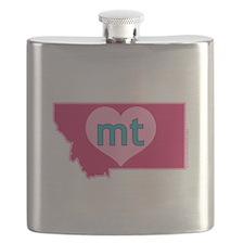 MT Heart Flask