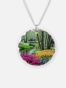 beautiful garden 2 Necklace
