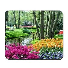 beautiful garden 2 Mousepad