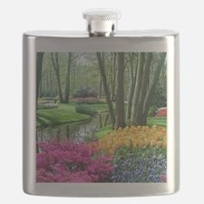 beautiful garden 2 Flask