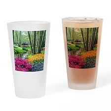 beautiful garden 2 Drinking Glass