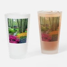 beautiful garden 2 Drinking Glass