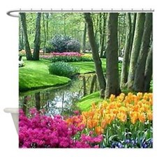 Cute Gardens Shower Curtain