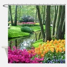 Unique Gardens Shower Curtain