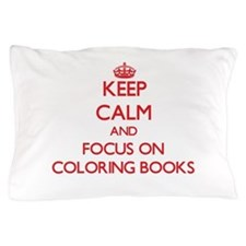 Cute Coloring books Pillow Case