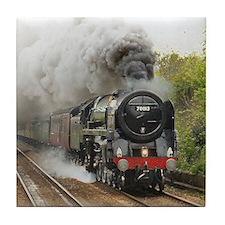locomotive train engine 2 Tile Coaster