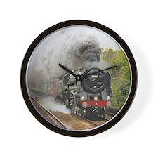 locomotive train engine 2 Wall Clock