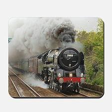 locomotive train engine 2 Mousepad