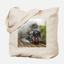 locomotive train engine 2 Tote Bag