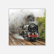"locomotive train engine 2 Square Sticker 3"" x 3"""