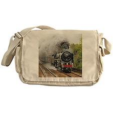 locomotive train engine 2 Messenger Bag
