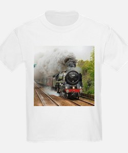 locomotive train engine 2 T-Shirt
