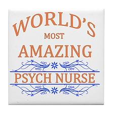 Psych Nurse  Tile Coaster
