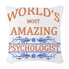 Psychologist Woven Throw Pillow
