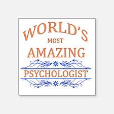 "Psychologist Square Sticker 3"" x 3"""