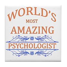 Psychologist Tile Coaster