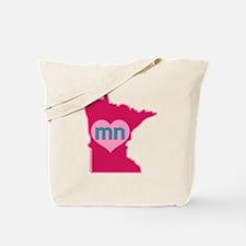 MN Heart Tote Bag