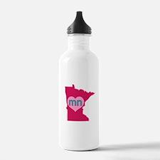 MN Heart Water Bottle