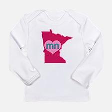 MN Heart Long Sleeve T-Shirt